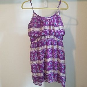 3 for 20 sale Mossimo purple floral dress